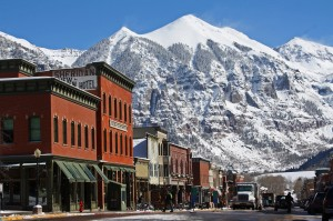 colorado weekend getaway in Telluride