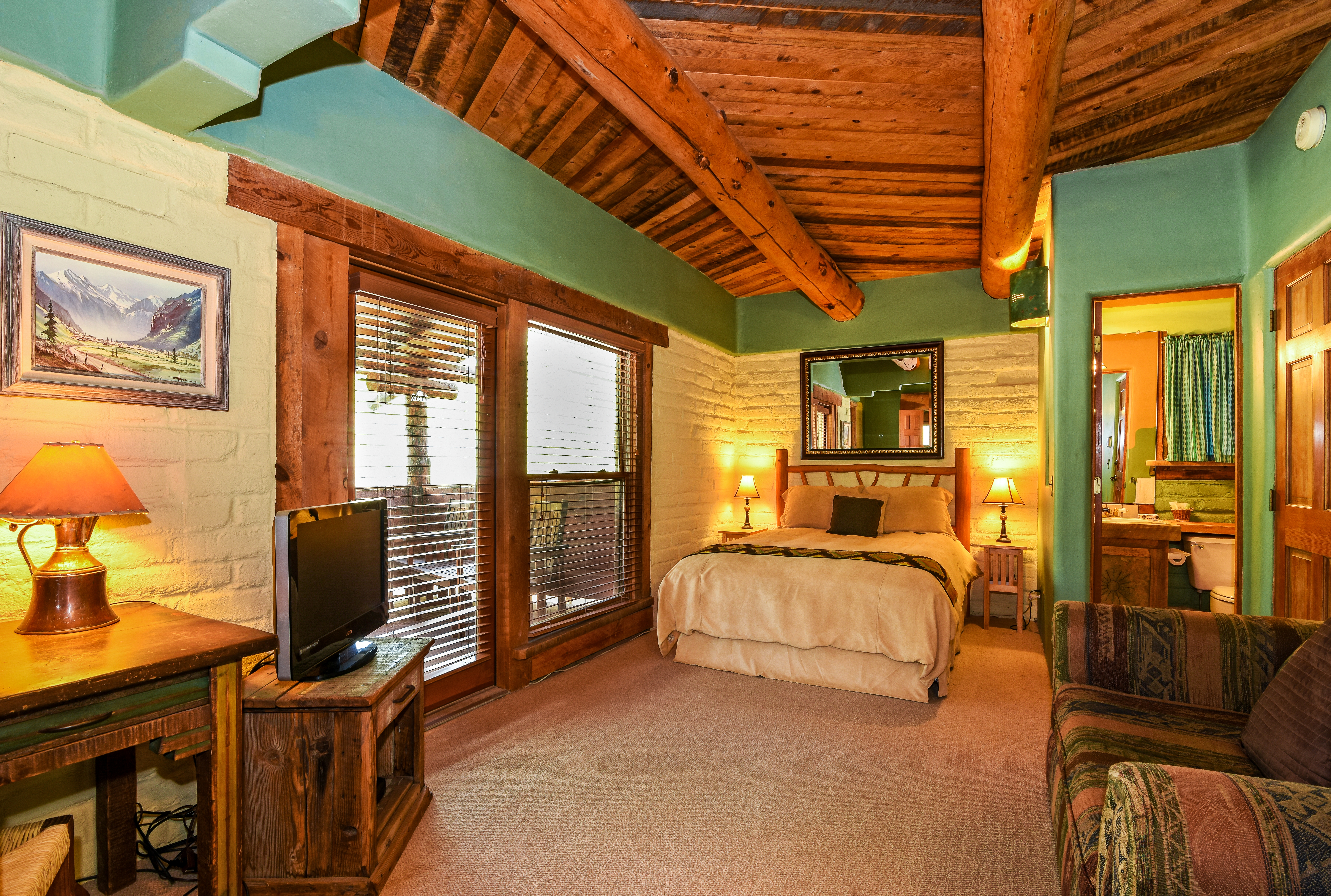 Deluxe Rooms at Chipeta, a Colorado hotel with private hot tubs