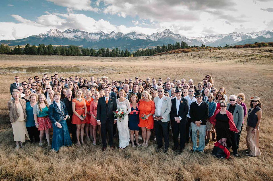 Wedding Guests Colorado Mountain Wedding Venues