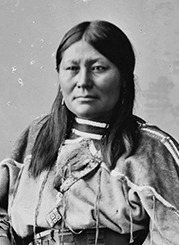 Chipeta, the wife of the great Ute Indian leader, Chief Ouray