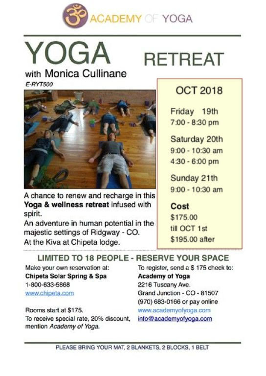 Academy of Yoga Retreat
