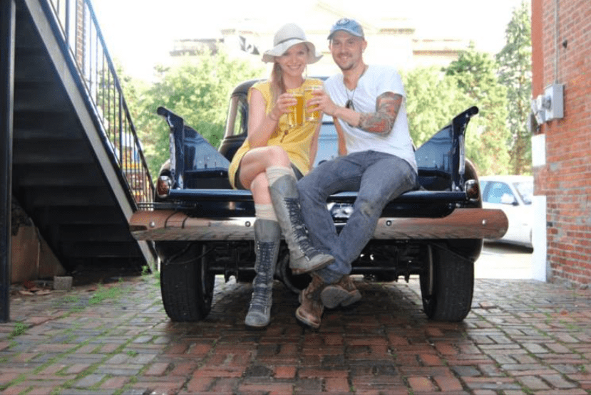 Folk Rock Duo 'You Knew Me When' Performs at The Sky Bar